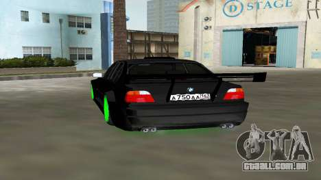 BMW 750 E38 Hamann Turbo Sports para GTA Vice City deixou vista