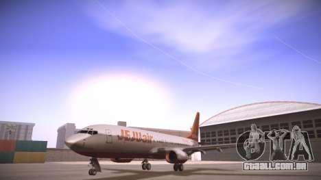 Boeing 737-800 Jeju Air para GTA San Andreas