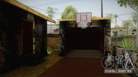 Big Smoke New Home para GTA San Andreas segunda tela