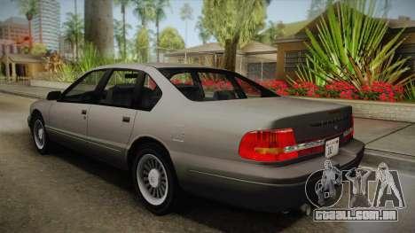 Willard Elegant SA Style para GTA San Andreas esquerda vista
