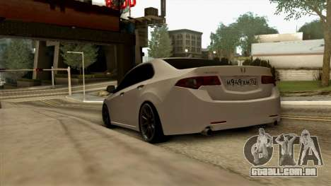 Honda Accord para GTA San Andreas vista direita