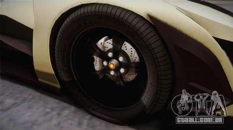 Devel Sixteen para GTA San Andreas vista traseira