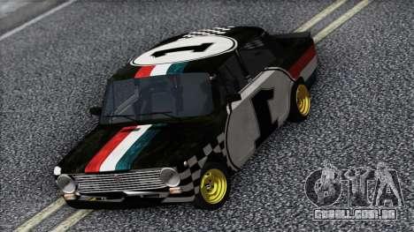 VAZ 2101 é um Carro de Corrida para GTA San Andreas vista direita
