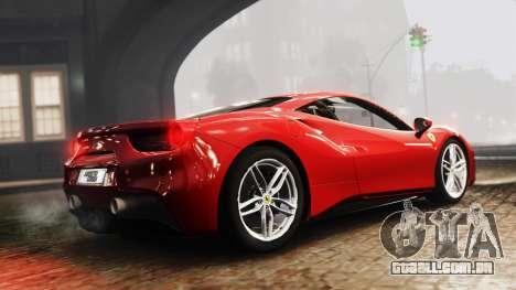 Ferrari 488 GTB 2016 para GTA 4 esquerda vista
