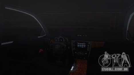 Toyota Camry 2013 USA para GTA San Andreas traseira esquerda vista