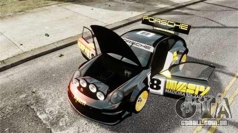 Porsche Rallye Vespas 911 GT3 RSR para GTA 4 vista lateral