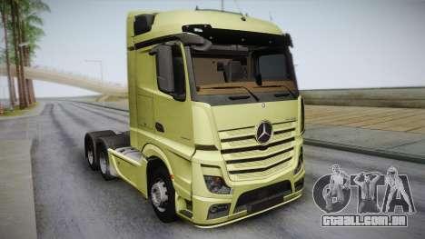 Mercedes-Benz Actros Mp4 6x4 v2.0 Steamspace para GTA San Andreas