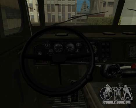 Ural 4320 Armenian para vista lateral GTA San Andreas