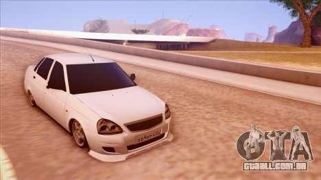 Lada Priora Autozvuk v.1 para GTA San Andreas