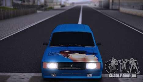 VAZ 2104 Anime para GTA San Andreas vista traseira