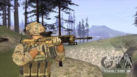 HK416A5 para GTA San Andreas segunda tela