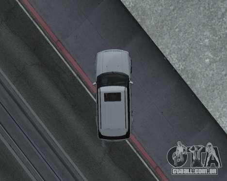 Range Rover Armenian para GTA San Andreas vista direita