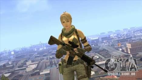 HK416A5 para GTA San Andreas terceira tela