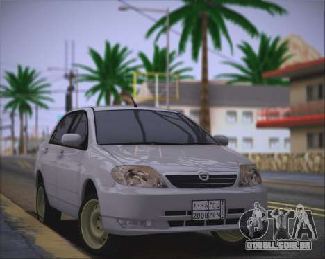Toyota Corolla 120 para GTA San Andreas