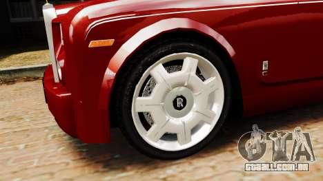Rolls-Royce Phantom LWB V2.0 para GTA 4 traseira esquerda vista