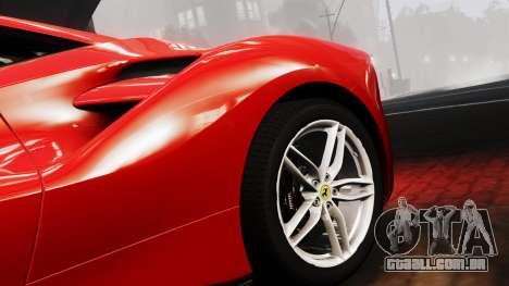 Ferrari 488 GTB 2016 para GTA 4 vista direita