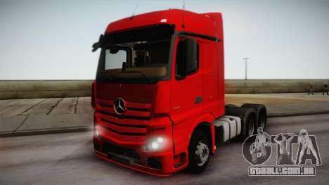 Mercedes-Benz Actros Mp4 6x4 v2.0 Bigspace para GTA San Andreas