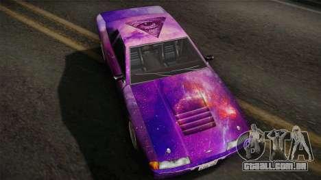 20egt Elegy PaintJob 5 para GTA San Andreas traseira esquerda vista