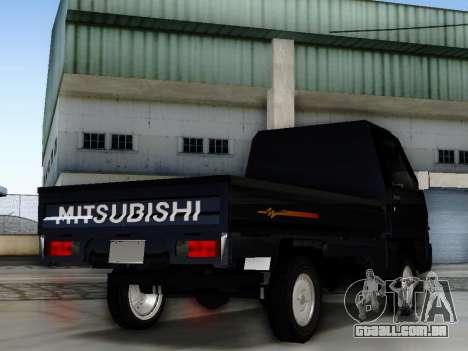 Mitsubishi Colt L300 Pickup para GTA San Andreas esquerda vista