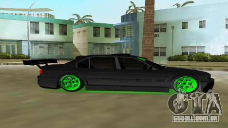 BMW 750 E38 Hamann Turbo Sports para GTA Vice City vista traseira esquerda