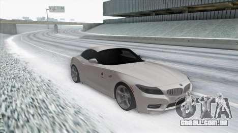 BMW Z4 para GTA San Andreas esquerda vista