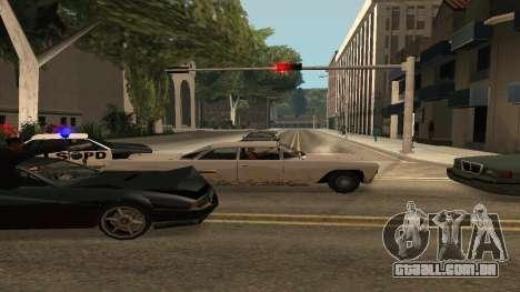 Cheetah Mod v1.1 para GTA San Andreas por diante tela