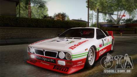 Lancia Rally 037 Stradale (SE037) 1982 HQLM PJ1 para GTA San Andreas vista direita