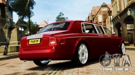 Rolls-Royce Phantom LWB V2.0 para GTA 4 esquerda vista