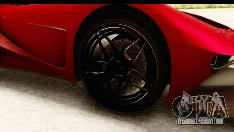 GTA 5 Vapid FMJ IVF para GTA San Andreas vista traseira