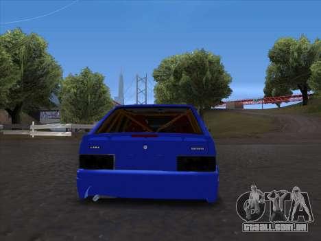 VAZ 2114 Sport para GTA San Andreas vista traseira
