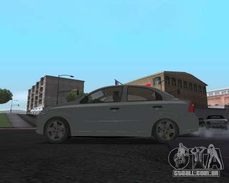 Chevrolet Aveo Armenian para GTA San Andreas