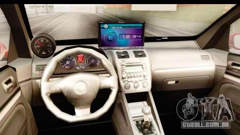 Volkswagen Golf GTI para GTA San Andreas vista interior