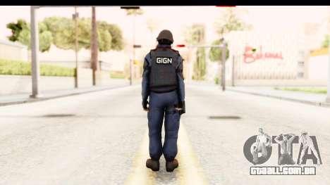CS:GO - GIGN para GTA San Andreas terceira tela