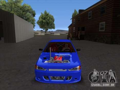 VAZ 2114 Sport para vista lateral GTA San Andreas