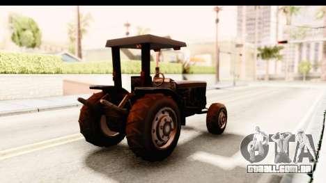 Modern Tractor para GTA San Andreas vista direita