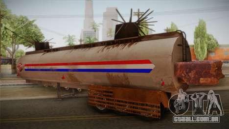 Mack R600 v2 Trailer para GTA San Andreas esquerda vista