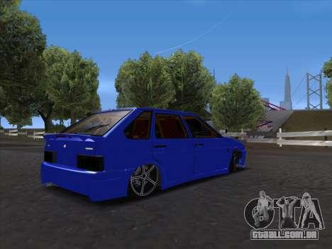 VAZ 2114 Sport para GTA San Andreas vista interior