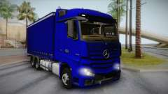 Mercedes-Benz Actros Mp4 v2.0 Tandem Steam para GTA San Andreas