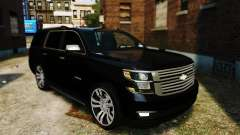Chevrolet Tahoe 2015 V1.1 para GTA 4