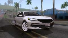 Honda Accord 2017 Stock para GTA San Andreas