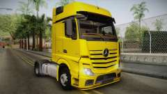 Mercedes-Benz Actros Mp4 4x2 v2.0 Gigaspace v2 para GTA San Andreas