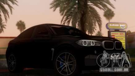 BMW X6M BULKIN SAMP EDITION para GTA San Andreas
