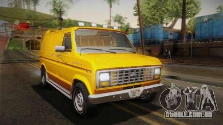Ford E-150 Commercial Van 1982 2.0 IVF para GTA San Andreas