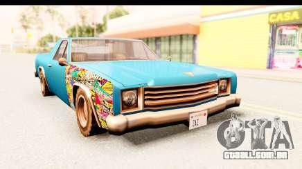 Picador Sticker Bomb para GTA San Andreas