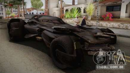 Batman VS Superman Batmobile para GTA San Andreas