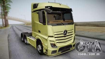 Mercedes-Benz Actros Mp4 6x4 v2.0 Steamspace para GTA San Andreas
