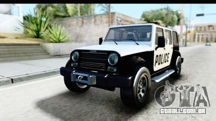 Canis Mesa Police para GTA San Andreas
