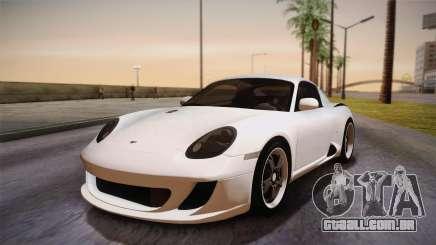Ruf RK Coupe (987) 2007 HQLM para GTA San Andreas