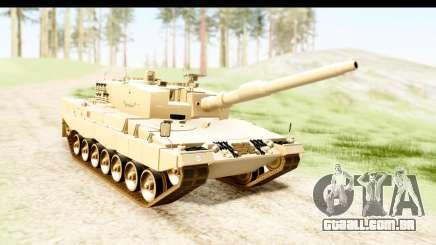 Leopard 2A4 para GTA San Andreas