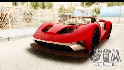 GTA 5 Vapid FMJ IVF para GTA San Andreas